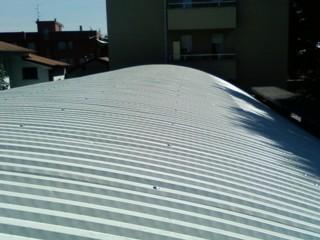 Nuova copertura tetto capannone